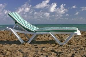 Ξαπλώστρες παραλίας πτυσσόμενες